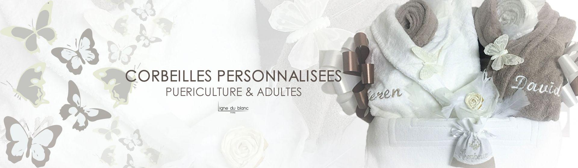 Corbeilles Personnalisées Puericulture & Adultes