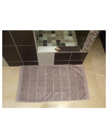 Tapis de bain modal taupe