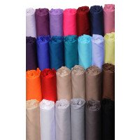 Solomed satin cotton flat sheet 120 threads / cm2 Salomé Prestige