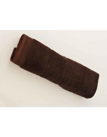 Tapis de bain modal chocolat