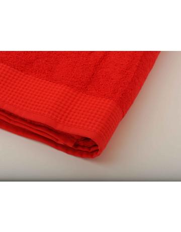 Serviette de Toilette Modal Rouge