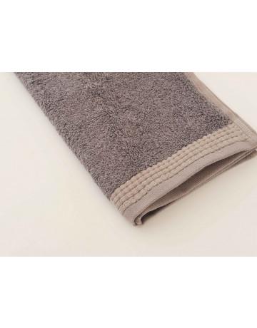 serviette d'invité modal gris