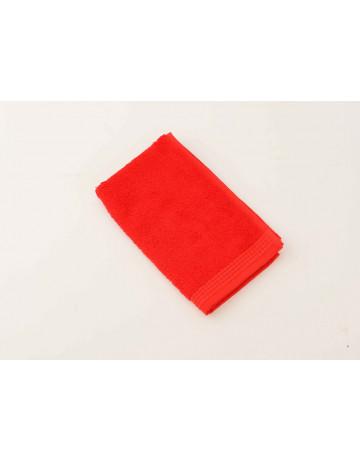 serviette d'invité modal rouge