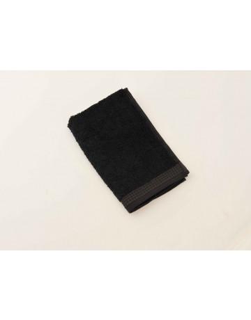 serviette d'invité modal noir