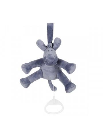 Mini musical bleu océan Paco Noukie's 15 cm