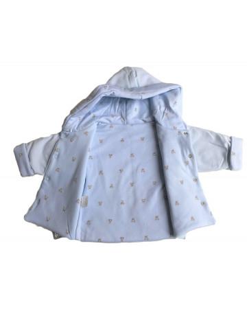 Manteau à capuche bébé Absorba
