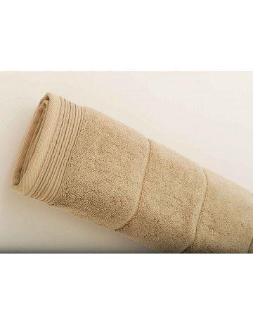 Tapis de bain modal sable