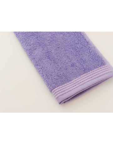 serviette d'invité modal lavande