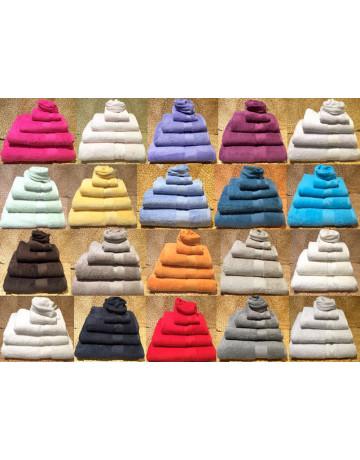 Combed cotton washcloth 550 grams