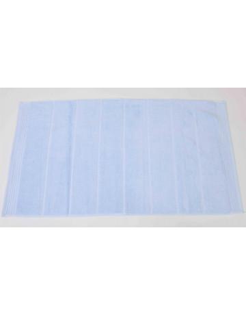 Tapis de bain modal bleu ciel