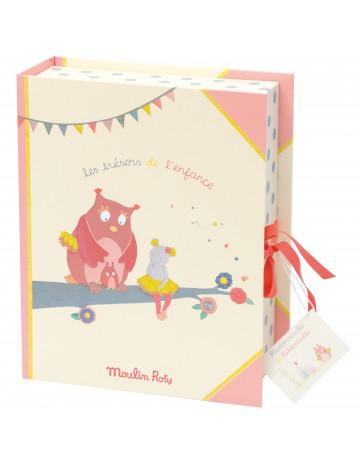 Coffret naissance Mademoiselle et Ribambelle