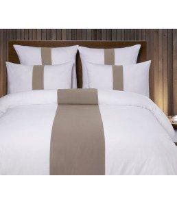 Lot de 2 Taies d'oreiller 50x70 satin de coton 120 fils/cm² déco