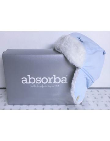 Chapka ciel-taupe Absorba