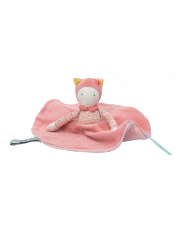 Doudou attaches pacifier Mademoiselle