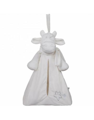 Range-pyjama lola blanc poudre étoile
