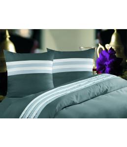 Lot de deux d'oreiller satin de coton 50x70