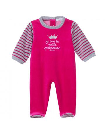 Pyjama velours fushia Absorba