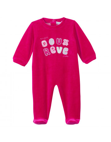 Pyjama Absorba nuit layette velours