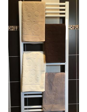 Tapis de bain coton peigné 550 gr/m² Salomé Prèstige 20 coloris