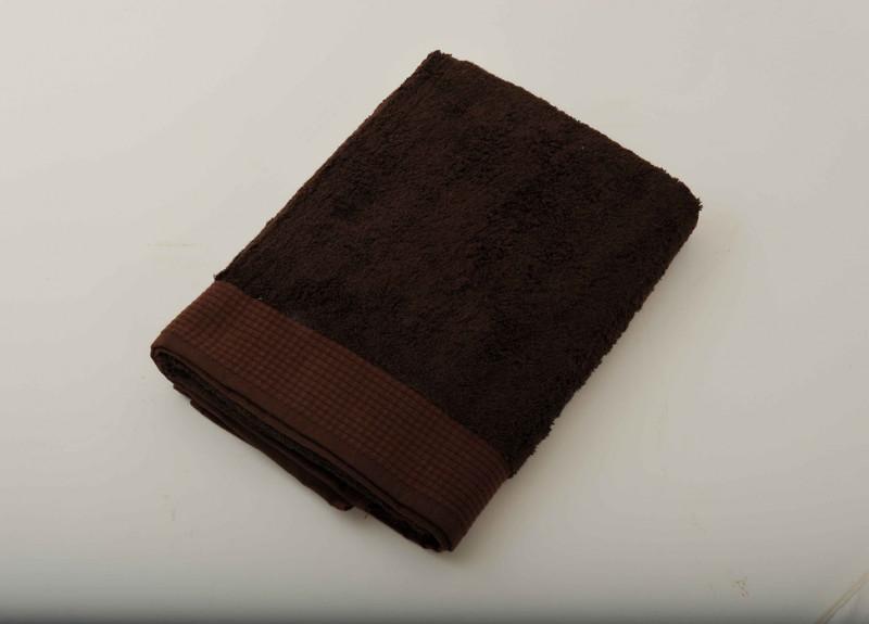 Serviette de toilette chocolat