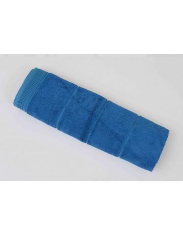 Tapis de bain modal bleu petrole