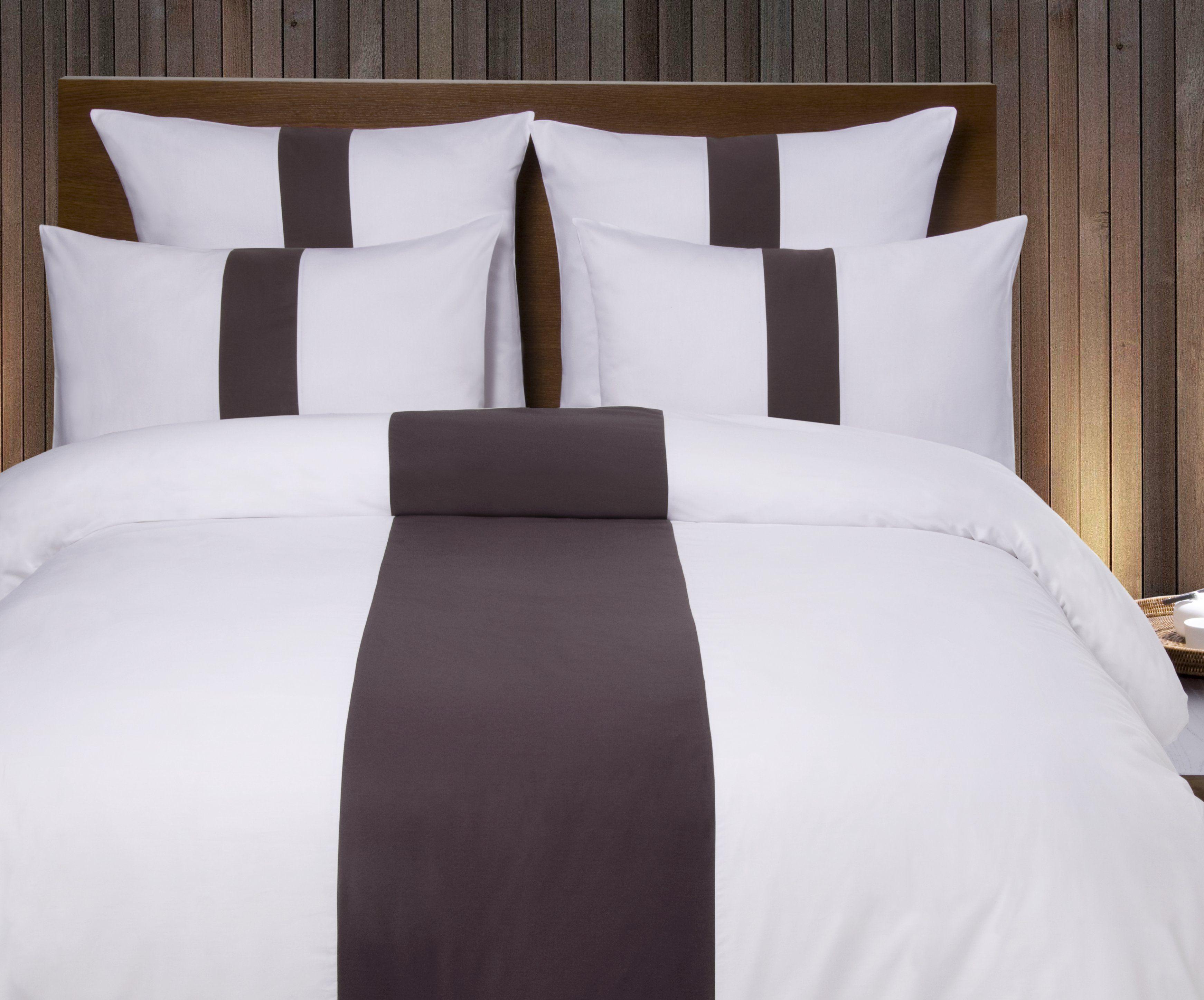 linge de maison linge de lit et de bain ligne du blanc. Black Bedroom Furniture Sets. Home Design Ideas